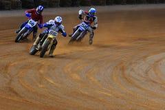 Dusty Bike Race Stock Image