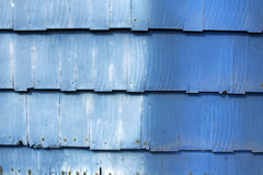 Free Dusty Blue Wooden Shingles Royalty Free Stock Photography - 10961787