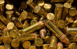 Dusty bullets Royalty Free Stock Image