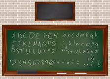 Dusty Chalkboard Image stock