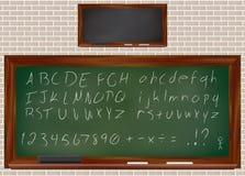 Dusty Chalkboard Stock Image