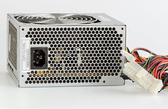 Dusty Computer Power Supply Unit Stock Images