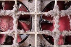 Dusty Cooling Fans Fotografia de Stock