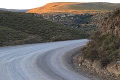 A dusty dirt road Royalty Free Stock Photography