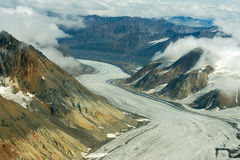 Dusty Glacier en parc national de Kluane, le Yukon 03 Images stock