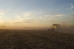 Dusty Harvest Stock Images