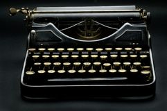 dusty, maszyny do pisania Zdjęcia Royalty Free