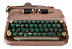 Dusty Old Manual Typewriter Royalty Free Stock Photography