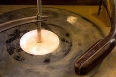 Dusty Old Record Playing auf einem Plattenspieler Lizenzfreies Stockbild