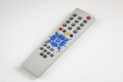 Dusty old simple TV remote Stock Photos