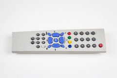 Dusty old simple TV remote Royalty Free Stock Photos