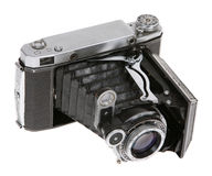 Dusty old Soviet camera Stock Photography