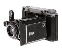Dusty old Soviet camera Royalty Free Stock Photography
