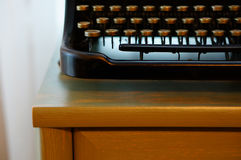 Dusty old typewriter Royalty Free Stock Photography