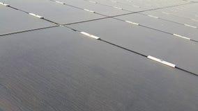 Dusty Photovoltaic Panels sujo imagem de stock royalty free