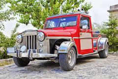 Dusty pick-up Hot Rod Stock Images