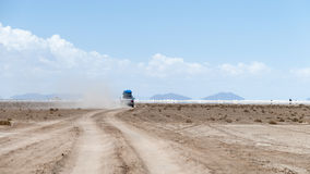 Dusty road Stock Images