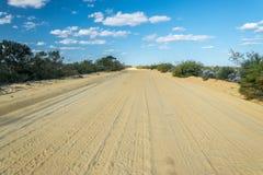 Dusty road Stock Photography