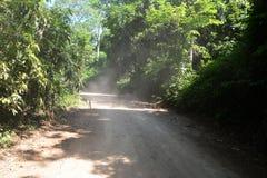 Dusty road Stock Image