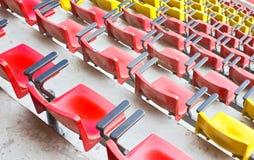 Dusty Stadium Seat. Stockfotografie