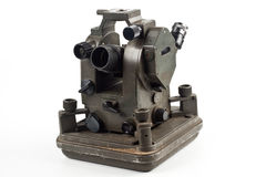 Dusty theodolite Royalty Free Stock Photos