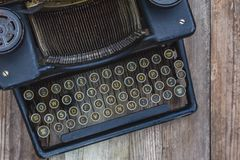 Dusty Vintage Typewriter Images libres de droits