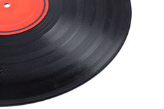 Dusty vinyl record Royalty Free Stock Image