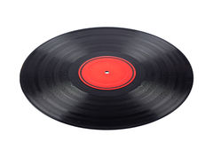 Dusty vinyl record Royalty Free Stock Images