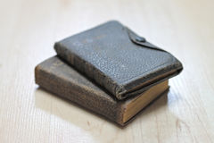 Dusty worn books Royalty Free Stock Photography