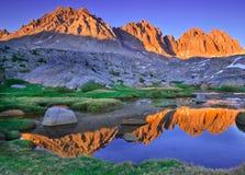 Dusy Basin Reflection Royalty Free Stock Photography