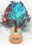 Dusza muzyka ilustracja wektor