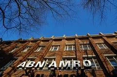 Dutch abn amro bank. A building of the dutch abn amro bank Stock Photos