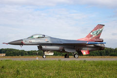Dutch Air Force F-16 Royalty Free Stock Photography