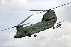 Dutch Air Force helicopters Stock Images