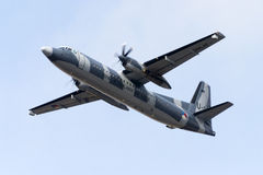Dutch air force utility transport aircraft Royalty Free Stock Photo