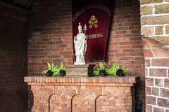 Dutch altar Stock Photography