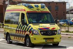 Dutch Ambulance Royalty Free Stock Images