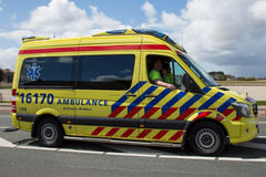 Dutch Ambulance royalty free stock images