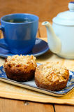 Dutch apple pie muffins Stock Image