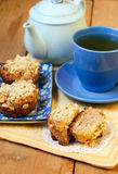 Dutch apple pie muffins Royalty Free Stock Image