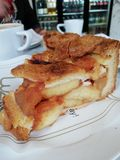 Dutch Apple pie royalty free stock photography