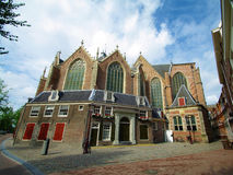 Dutch architecture. In the center of amsterdam.back of church Stock Photos