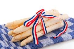 Dutch asparagus Royalty Free Stock Photo