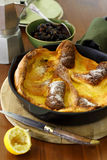 Dutch Baby Pancake Stock Photo