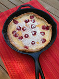 Dutch Baby Pancake Stock Image