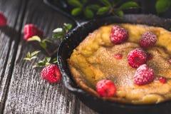 Dutch Baby Pancake. German popover stock image