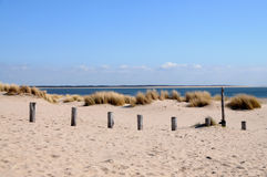 Dutch beach Royalty Free Stock Photography