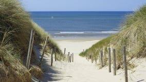 Dutch beach Stock Photography