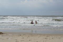 Dutch beach Royalty Free Stock Photo