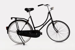 Dutch bicycle. Image of Dutch bicycle on white background Royalty Free Stock Images
